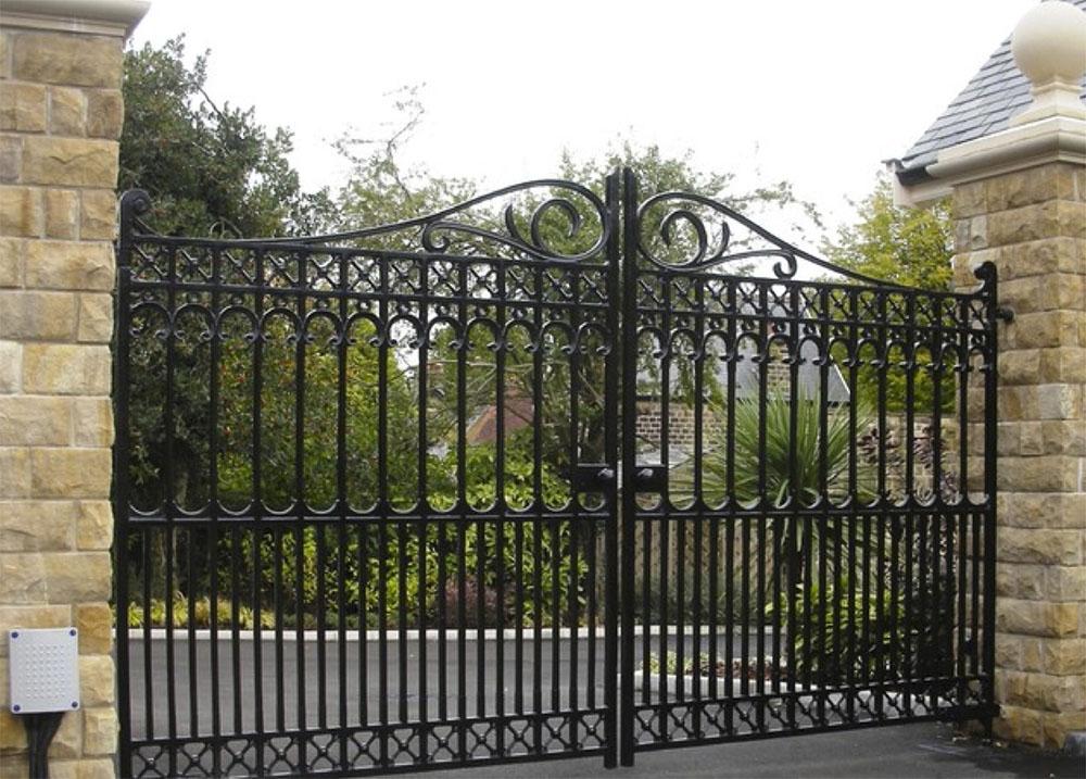 Cast iron gates heartlands metalcraft