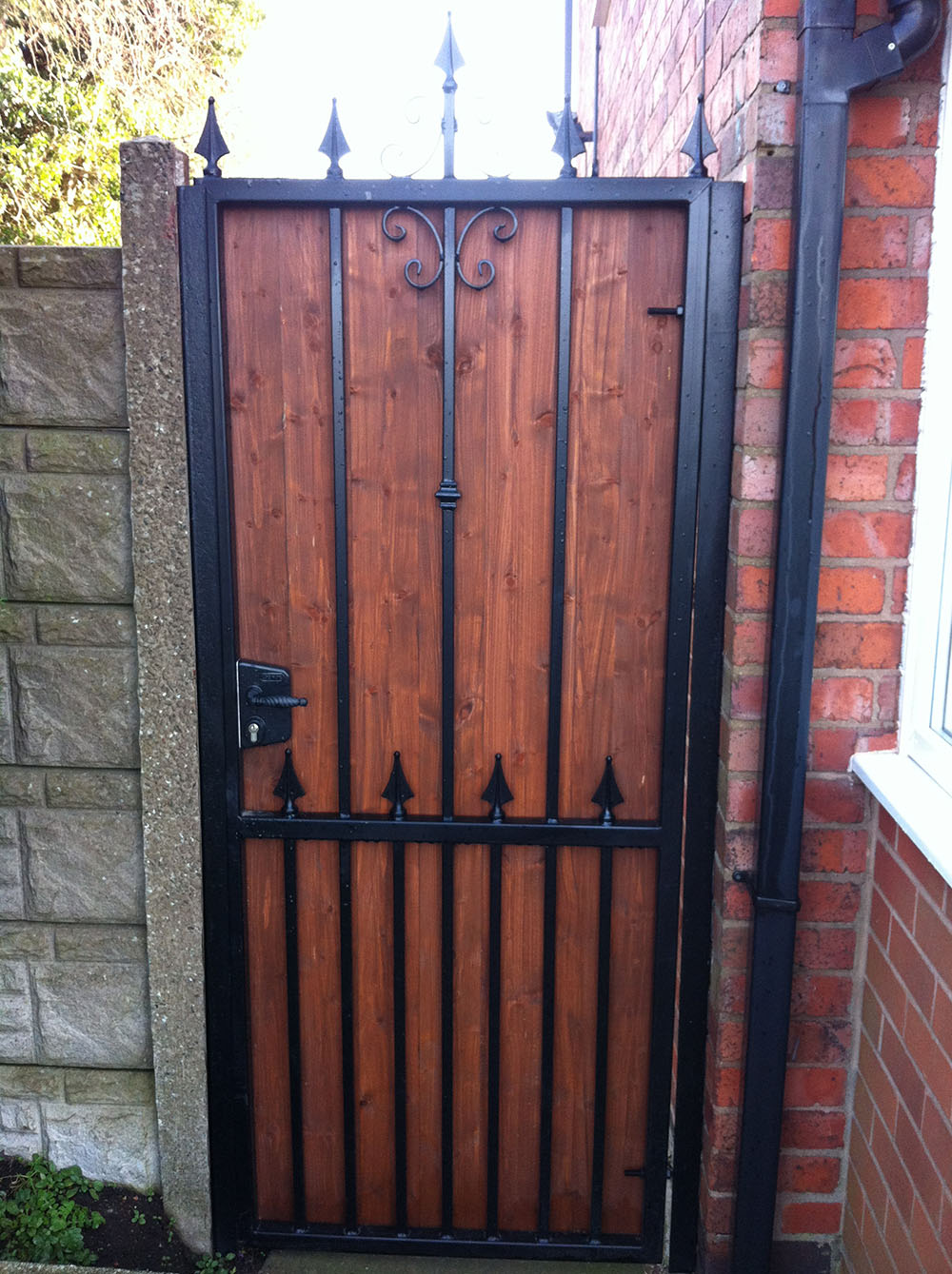 Wooden Gates Heartlands Metalcraft